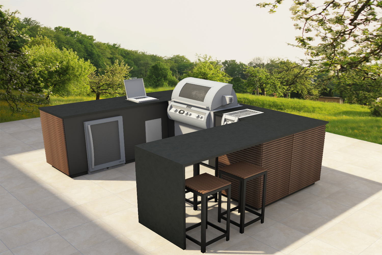 Outdoor Küche Edelstahl Mit Kühlschrank : Cubic outdoor küche fire magic outdoor küchen