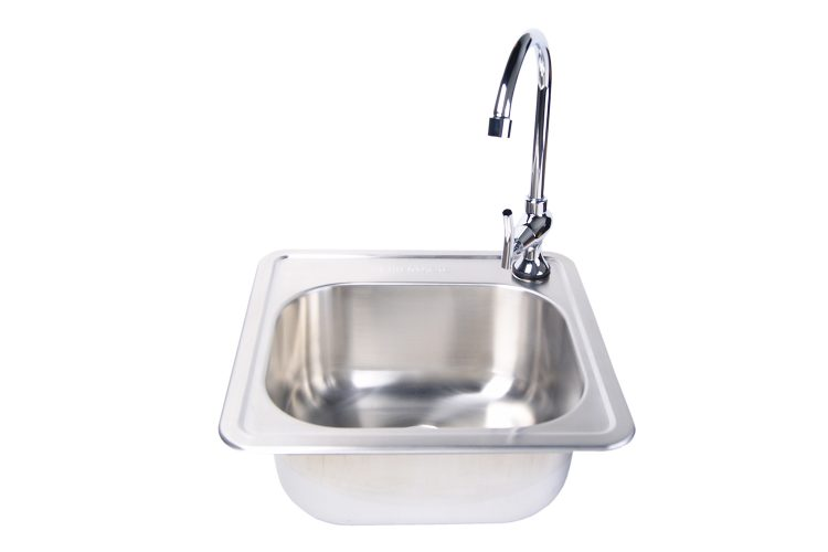 3588-3587 stainless steel sink and facit