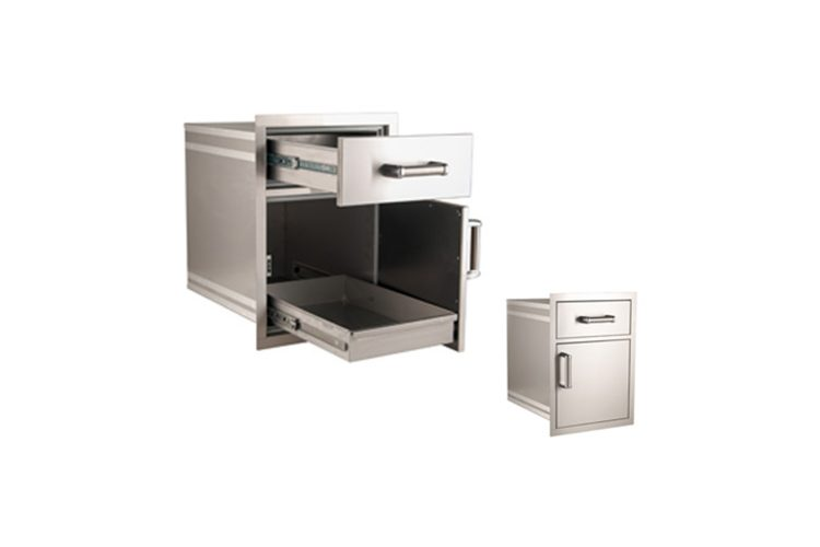 54018S medium pantry door and drawer