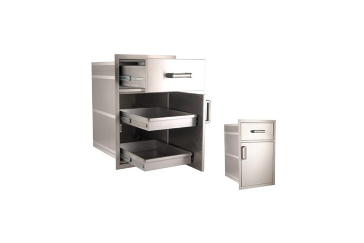 54020S large pantry door and drawer
