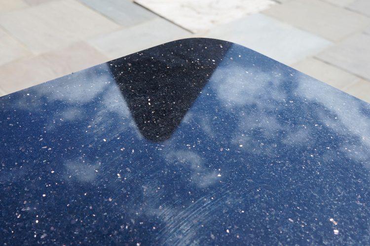 Davis black granite
