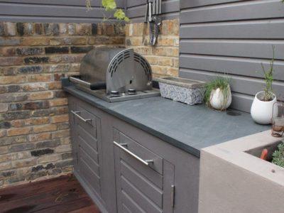 Outdoor kitchen Rosie Nottage
