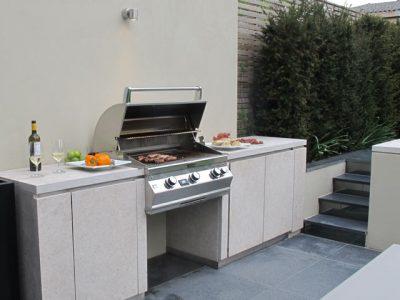 Charlotte Rowe outdoor kitchen