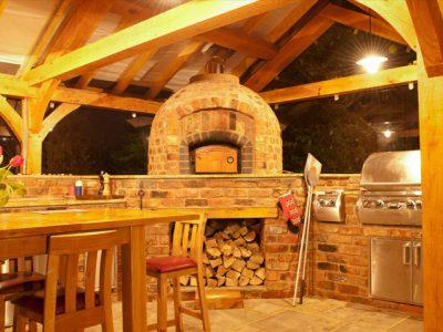 Urban landscapes outdoor kitchen