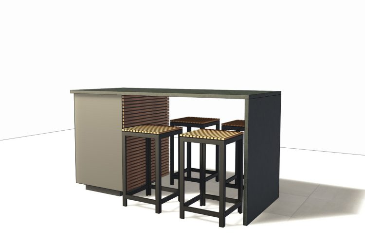 CUBIC BAR UNIT