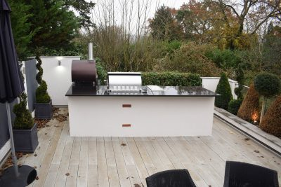 Fire Magic Outdoor Kitchen Terrace