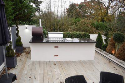 Fire Magic Outdoor Kitchen Terrace